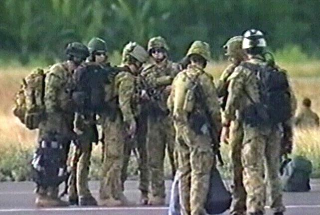 East Timor - Peacekeepers arrive