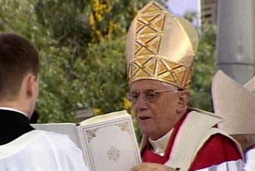 Pope Benedict XVI - Opposes gay marriage
