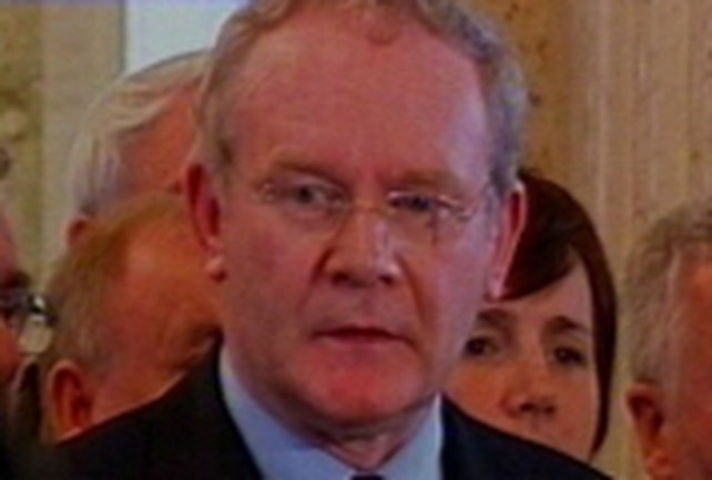 Martin McGuinness - SF will only work to restore power-sharing