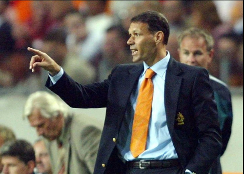 Marco van Basten's policy of retiring the Netherlands' older players against their will seems to have backfired on him