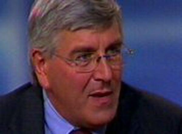 Vincent Sheridan - Grave concern at takeover