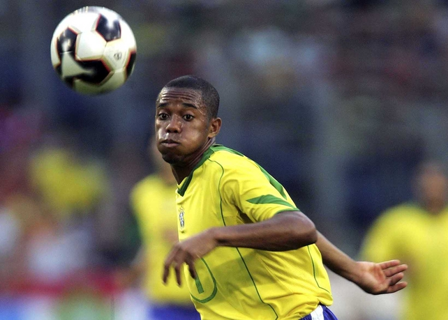 Real Madrid star Robinho is likely to start on Wednesday against the Republic of Ireland