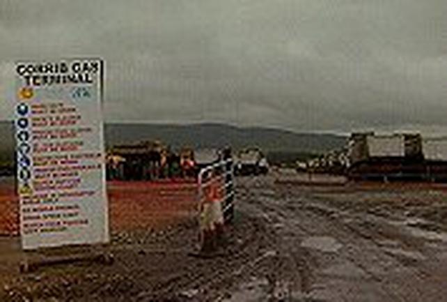 Corrib gas pipeline - Protest continues