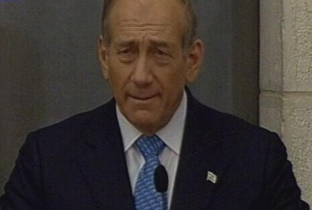 Ehud Olmert - Go ahead for widened assault