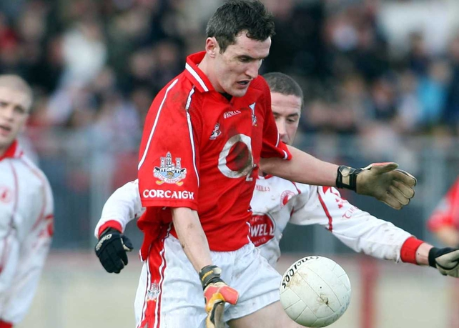 Graham Canty is a fitness worry for Cork