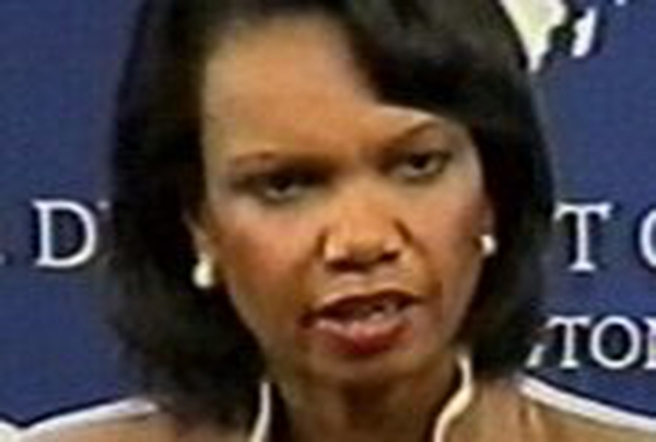 Condoleezza Rice - Due to arrive in Middle East