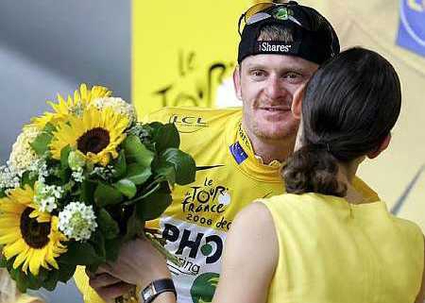 Floyd Landis has tested positive for testosterone
