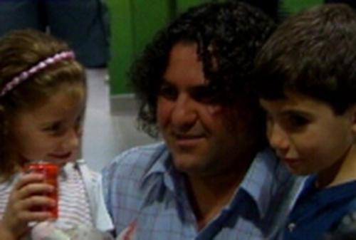Munier Zabed - Re-united with children