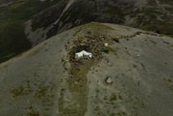 Croagh Patrick - Estimated 20,000 people made pilgrimage