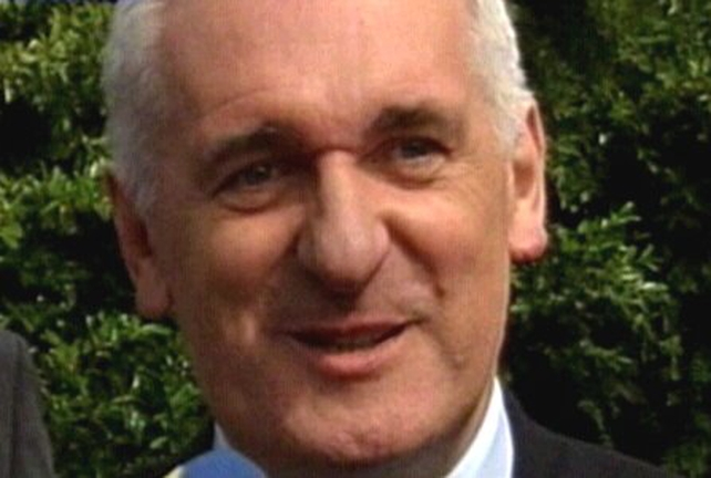 Bertie Ahern - Urged groups to move towards peace