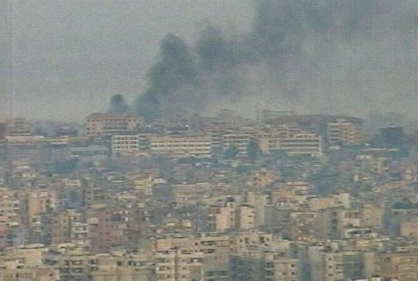 Beirut - Israel renews air strikes