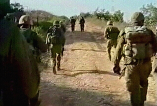 Israeli army - Three soldiers die in clashes