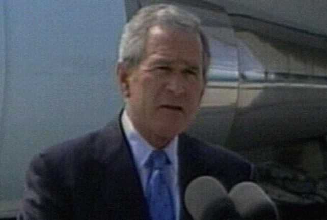 George W Bush - Mistake to underestimate threat