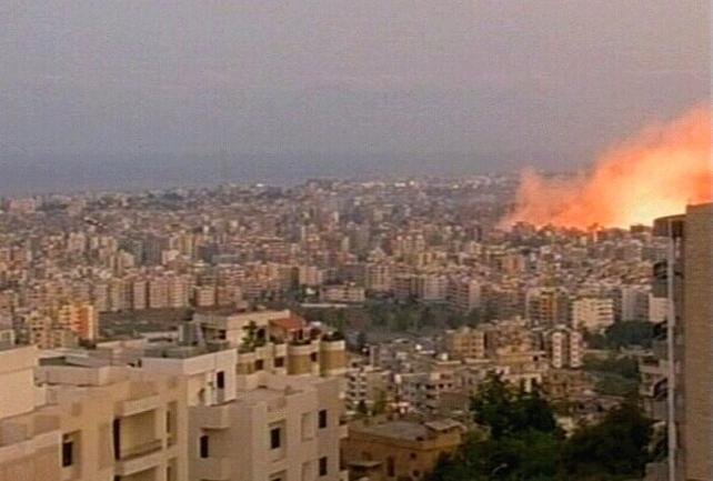 Beirut - Air strikes on capital