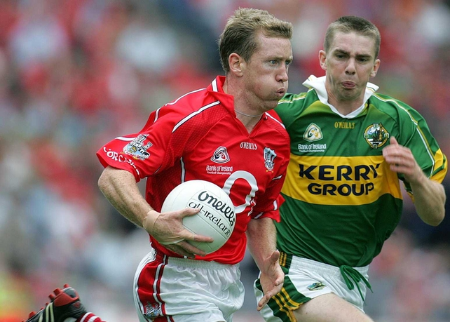 Cork Conor McCarthy (pictured here with Kerry's Marc O'Se) has been recalled the the Rebels starting side