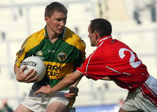 Mike Frank Russell was instrumental in Kerry's win over Cork at Croke Park this afternoon