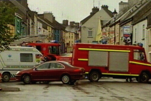 Roscrea - Part of town was sealed off
