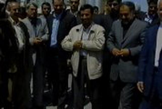 Mahmoud Ahmadinejad - Opened Iranian nuclear plant