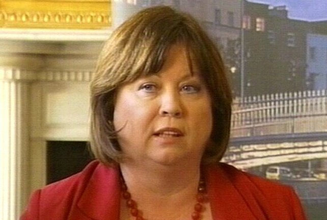 Mary Harney - Stepping down as PD leader
