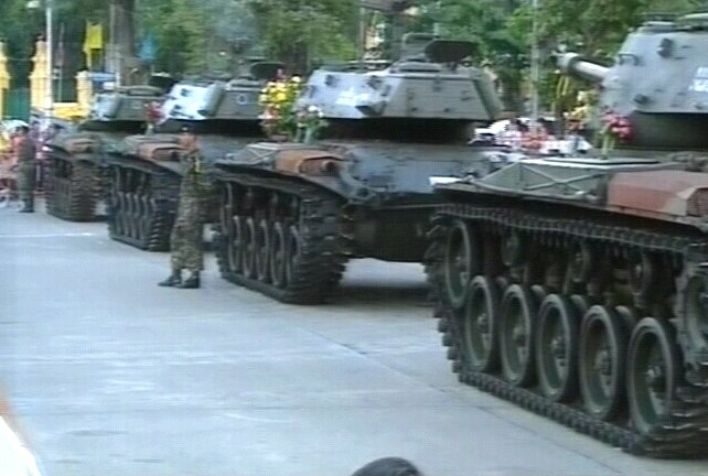 Thailand - Military coup gets royal support