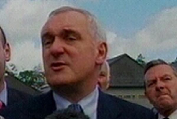 Bertie Ahern - Denies being compromised