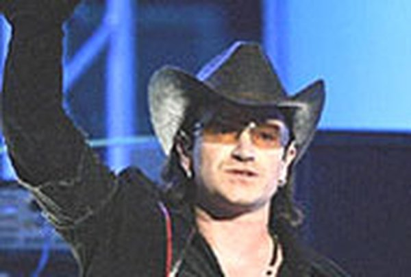 "Bono - ""alarmed"""