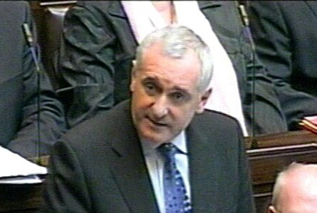 Bertie Ahern - Dáil statement on payments