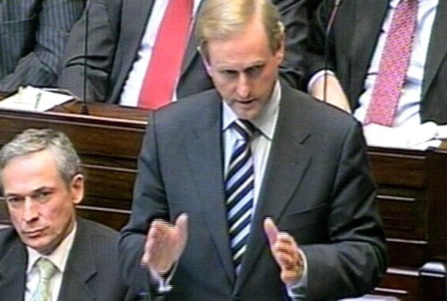Enda Kenny - Plans are last gasp PD move