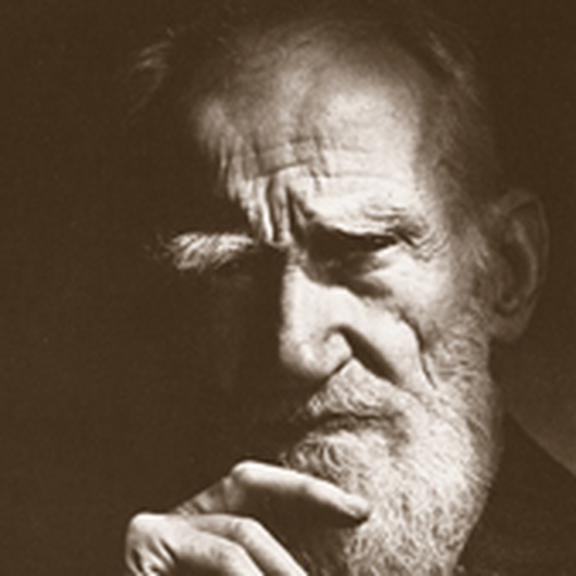 On The Street Where He Lived George Bernard Shaw
