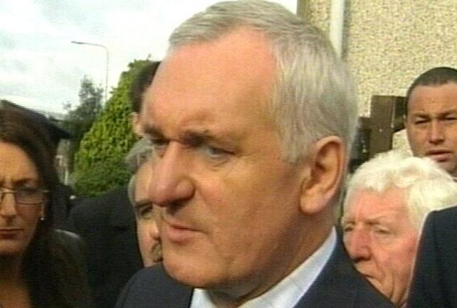 Bertie Ahern - Negotiating is over