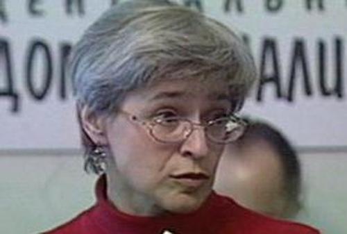 Anna Politkovskaya - 48-year-old murdered