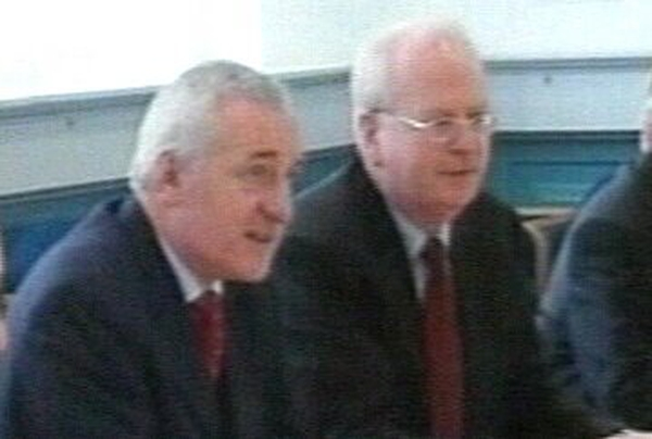 Bertie Ahern, Michael McDowell - Donations law change mooted