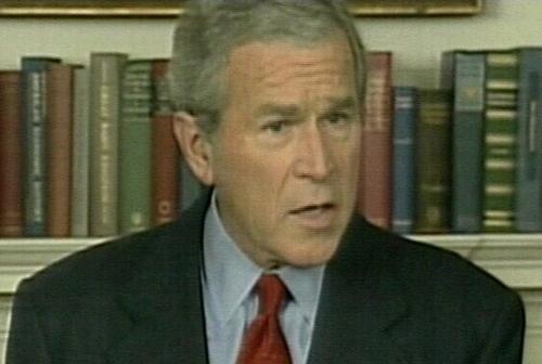 George W Bush - Assured Iraqi PM of support
