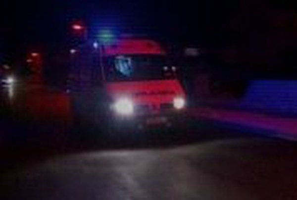 Gort, Co Galway - Man being treated in hospital