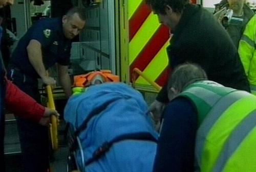 Maura Harrington - Injured at protest