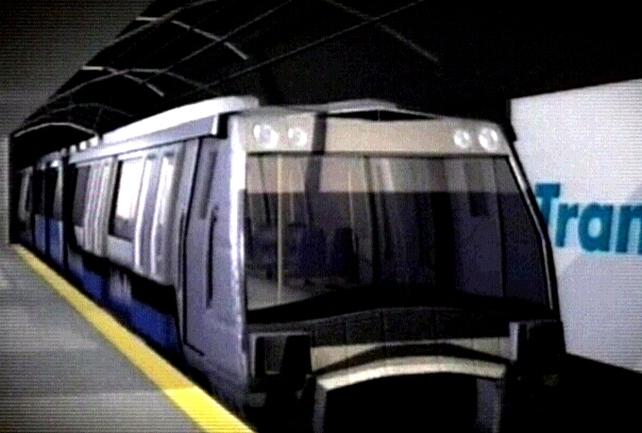 Dublin Metro - Underground at Ballymun