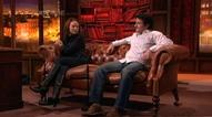 Paul Gleeson and Tori Holmes