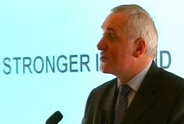 Bertie Ahern - Call for accord on referendum text