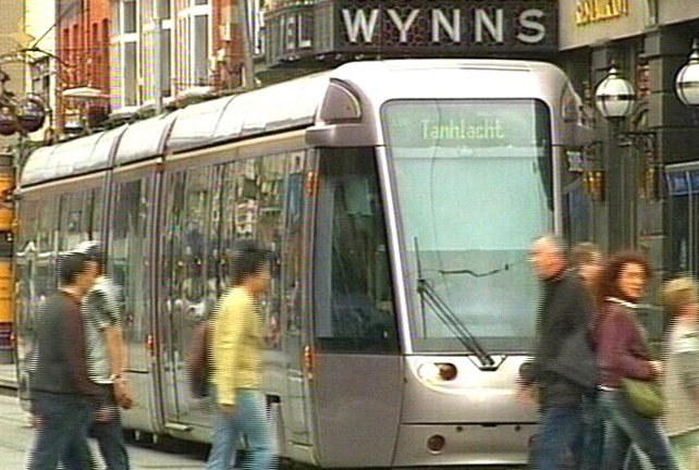 LUAS - Call for more electric transport
