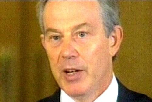 Tony Blair - May face opposition to plans