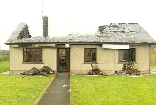 Thomas O'Hare and Lisa McClatchey were beaten before petrol was poured around their house and set alight