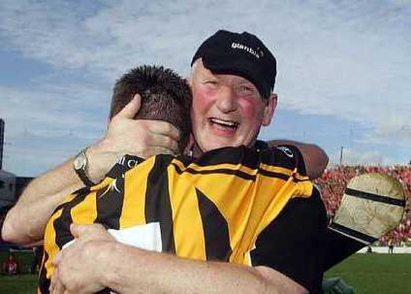 Brian Cody celebrates leading Kilkenny to their 29th All-Ireland crown in September