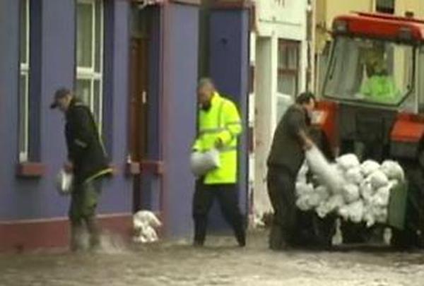Crossmolina, Co Mayo - Serious flood damage