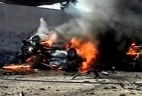 Baghdad - Bomb blast