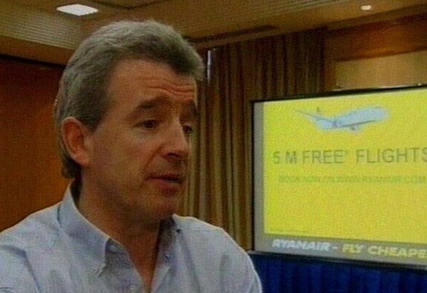 Michael O'Leary - Pressure on fares