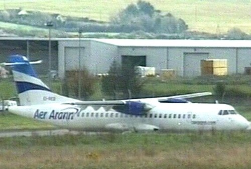 Aer Arann - Flight diverted over technical fault