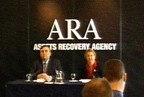 Assets Recovery Agency - Merging with London agency
