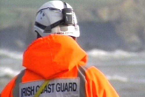 The Irish Coast Guard airlifted the man to Altnagelvin hospital in Co Derry