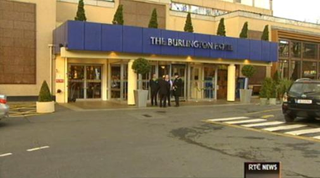 The Burlington Hotel site was sold for more than €66m an acre in 2007