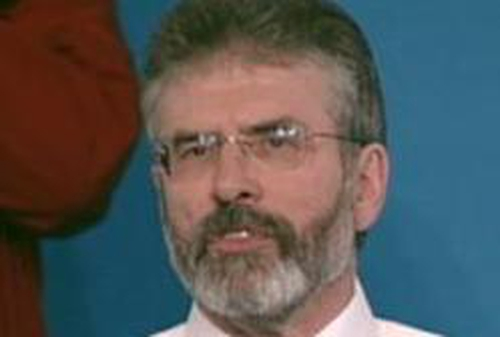 Gerry Adams - 'Landmark decision'